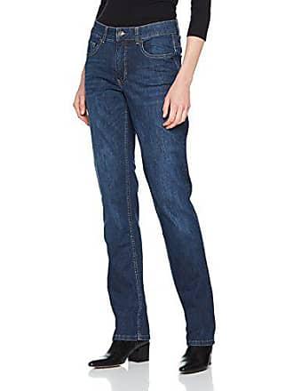 MAC Melanie - Jeans Straight - Femme - Bleu (Dark Blue D845) - Taille cb9923477f6