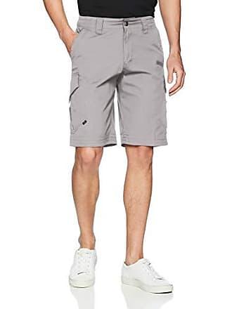 Fox Mens Slambozo Standard Fit 22 Canvas Cargo Short, Steel Grey, 30