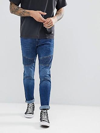 Esprit Bikerjeans med skinny fit - Blå f1d9a63f9f22f