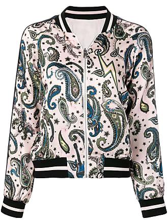 Zadig & Voltaire paisley print bomber jacket - Pink