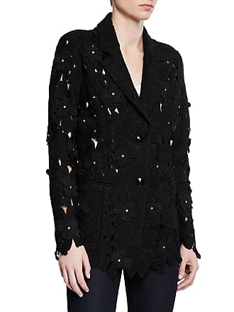 b4984dc9cb00 Berek Peek-A-Boo 3D Open Floral Lace Button-Front Jacket