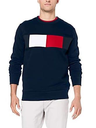 d9830363 Tommy Hilfiger Flag Chest Logo Sweatshirt Sweat-Shirt, Blau (Sky Captain  403)