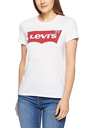 53ddb76c Levi's Womens The Perfect Tee Large Batwing, White, X- Small