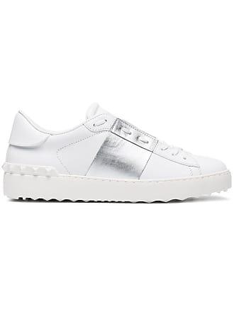 ff0b145c0d886d Valentino Slip-On-Sneakers in Colour-Block-Optik - Weiß