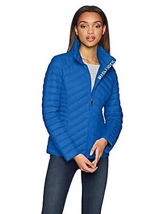 ce473352 Tommy Hilfiger Womens Short Packable Down Jacket, Nautical Blue, XL