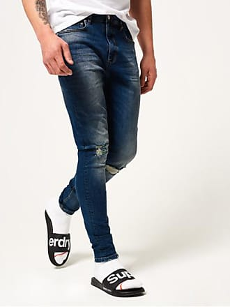 bf810b2383388 Jeans Slim pour Hommes en Bleu − Maintenant : jusqu''à −50% | Stylight