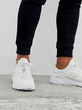 adidas Originals LXCON Adiprene trainers in triple white