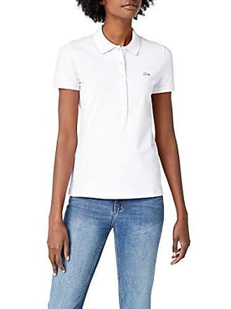 1bdeb605bc Lacoste PF7845, Polo Femme, Blanc (Blanc), 36 (Taille Fabricant :