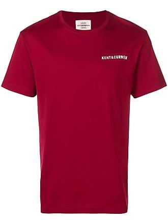 Kent & Curwen Camiseta com estampa de logo - Vermelho