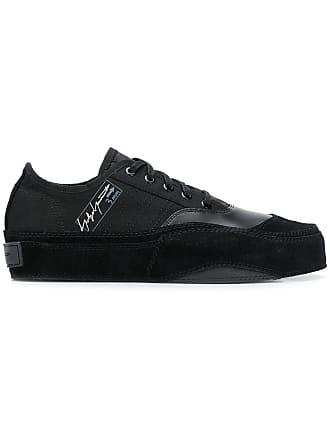 ad42d88cc616 Yohji Yamamoto YOHJI YAMAMOTO X ADIDAS contrast logo sneakers - Black