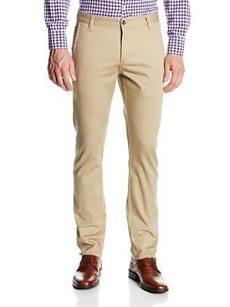 Dockers Mens Alpha Khaki Skinny Flat-Front Pant, Chino - discontinued, 38W x 29L