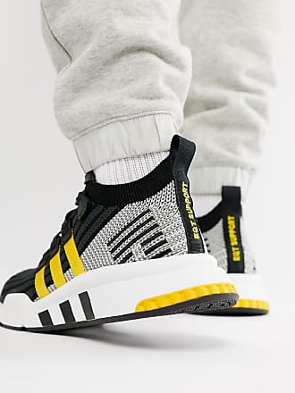 reputable site c1d20 21e6c adidas Originals EQT Support Mid Adv - Schwarze Sneaker, CQ2999 - Schwarz