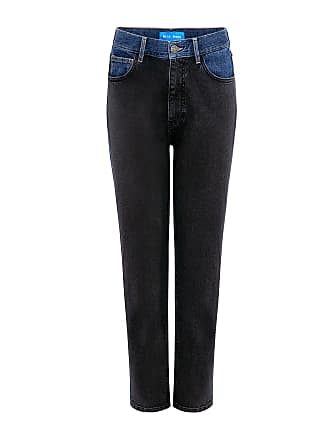 Mih Jeans Mimi High Rise Two-Toned Jeans Two Toned