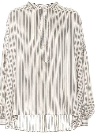 Isabel Marant Ilda striped silk-blend blouse