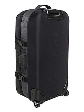 Quiksilver Mens New Reach Luggage, Black Heather/Black, 1SZ