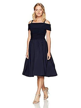 81decefdc298 Jessica Howard Womens Petite Off-The-Shoulder Fit & Flare Dress, Navy 8P