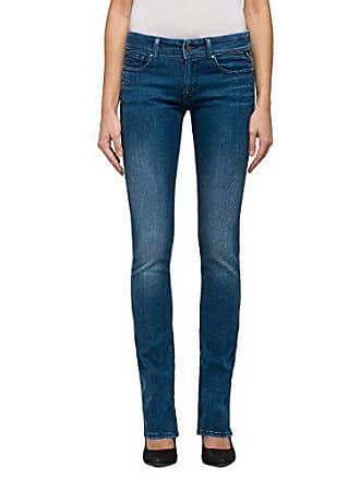 2b8ff246b1b988 Replay Luz Jeans Bootcut, Blu (Blue Denim 9), W27/L30 (