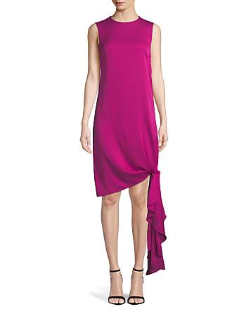 MILLY Womens Washed Stretch Silk Rachel Dress