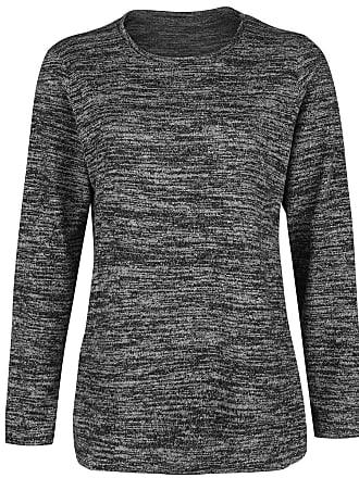 0f113b41d21 Stedman Knit Sweater Woman Melange - Gebreide trui - donkergrijs gemêleerd