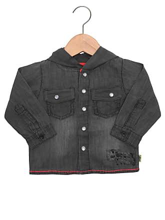 Tip Top Camisa Tip Top Baby Jeans Cinza