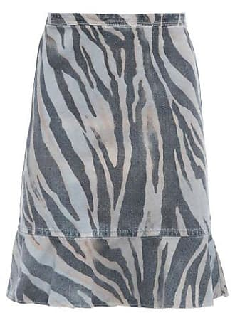Bobstore Saia Babados Barra Estampa Zebra Militar BOBSTORE - Animal Print