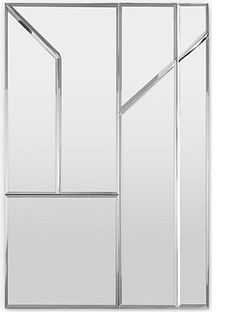 MADE.COM Cut Spiegel (60 x 90 cm), Silber