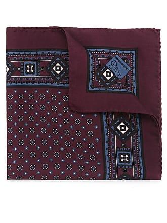 Dolce & Gabbana Lenço de seda estampado - Vermelho