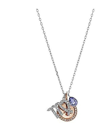 b9850097b23e Swarovski Zodiac Pendant Virgo Necklace (Violet) Necklace