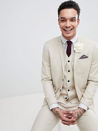 Jack   Jones Premium skinny kostymjacka i sommarbeige - Sand 8b13ab201a7cf