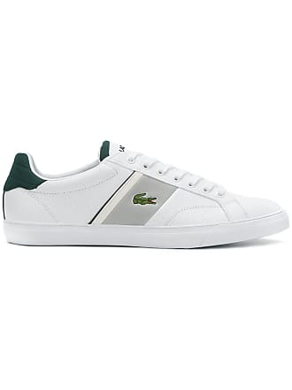 Lacoste low top sneakers - White