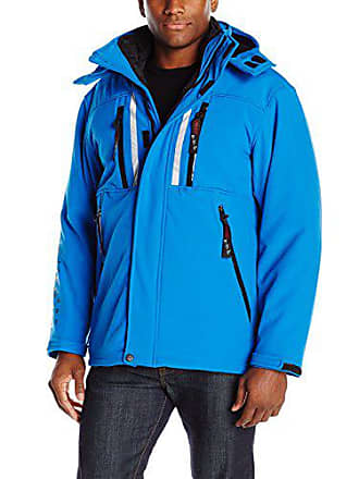 6a65ff98e56 Canada Weather Gear Canada Weather Gear Mens Soft Shell 3 in 1 Systems  Jacket