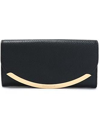 See By Chloé See By Chloé Woman Lizzie Pebbled-leather Continental Wallet Black Size