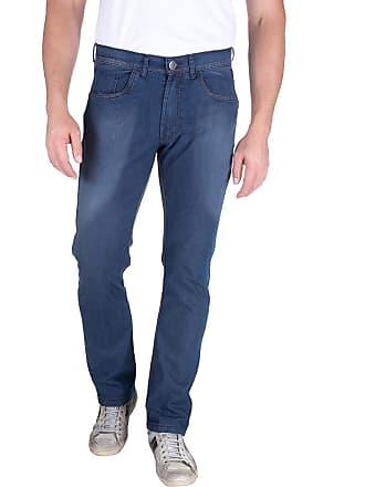 Colombo Calça Jeans Masculina Azul Marinho Lisa 49576 Colombo