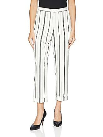 Karen Kane Womens Cuffed Stripe Pant, Small