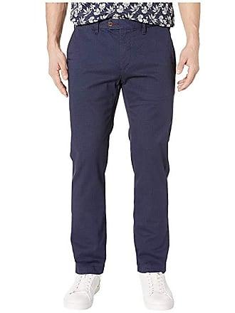 0eb5b2ab9733 Ted Baker Sladrid Slim Fit Printed Chino (Navy) Mens Casual Pants