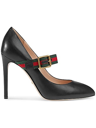 879ee7f5438 Gucci Sylvie leather mid-heel pumps - Black
