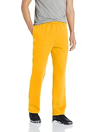 b6216cdc994142 Starter Mens Open-Bottom Sweatpants with Pockets, Amazon Exclusive, Team  Yellow, Small
