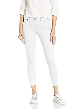 Hue Womens Plus Size Ultra Soft Denim Jean Skimmer Leggings, Assorted, White, 1X
