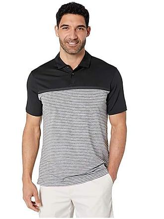 922c4dafd Nike TW Dry Vapor Stripe Block Polo (Black Black) Mens Clothing