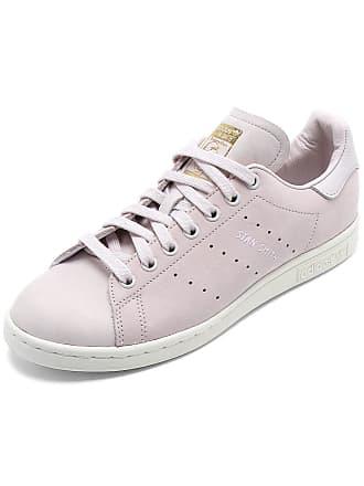adidas Originals Tênis Couro adidas Originals Stan Smith W Rosa