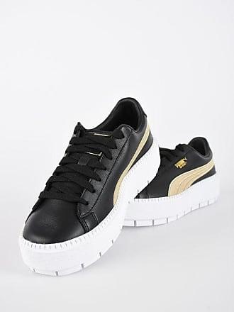 efef7dd0960258 Puma Leather PLATFORM TRACE VARSITY Sneakers Größe 38