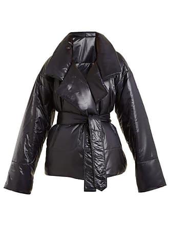Norma Kamali Sleeping Bag Short Coat - Womens - Black