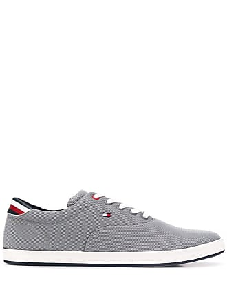 f7e2ba9a4 Tommy Hilfiger textured mesh trainers - Grey