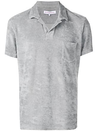 Orlebar Brown Camisa polo com bolso - Cinza
