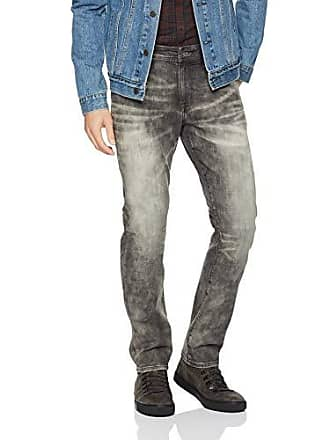William Rast Mens Hixson Straight Leg Jean, Cobblestone, 36 x 30