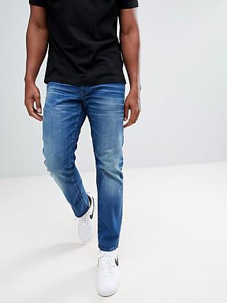 ab05457ca14 G-Star 3301 - Mellanblå raka jeans - Medium aged