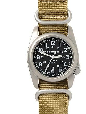 Bertucci A-2T Nato Sapphire Watch Black/Nato Khaki Nylon 12098