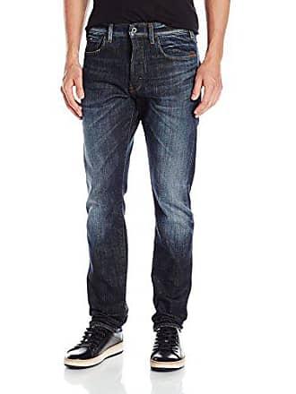 G-Star Mens Holmer Tapered Fit Jean, Dark Aged, 31x30