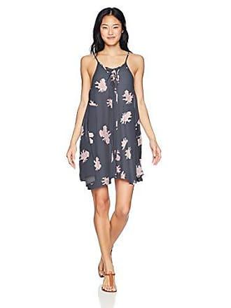 7ceb950cfa35 Roxy Womens Junior Softly Love Printed Coverup Dress Swimwear