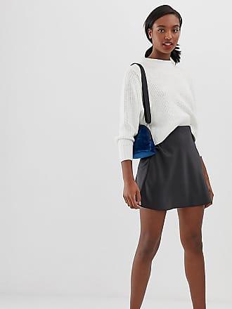 ebd4eef96 Asos Tall ASOS DESIGN Tall bias cut satin mini skirt - Black